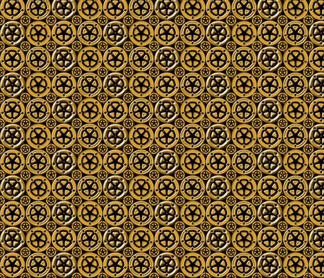 wheel6 fabric by glimmericks on Spoonflower - custom fabric