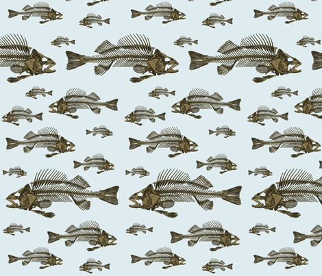 Safe to go back in the water?? fabric by glanoramay on Spoonflower - custom fabric