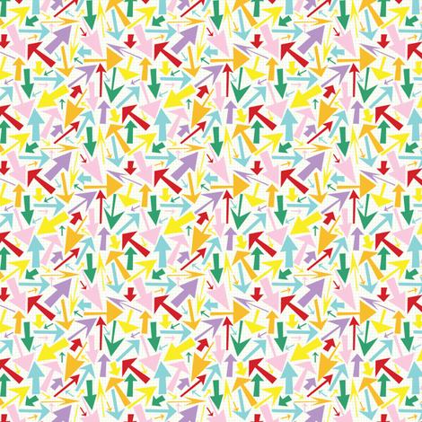 arrowpatterntile fabric by tammiebennett on Spoonflower - custom fabric