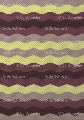 Wide winter waffle stripe by Su_G