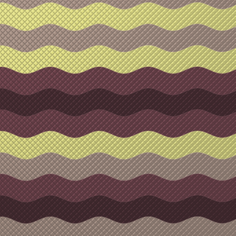 Wide winter waffle stripe by Su_G fabric by su_g on Spoonflower - custom fabric