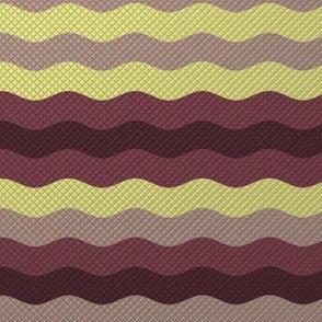 Wide winter waffle stripe by Su_G