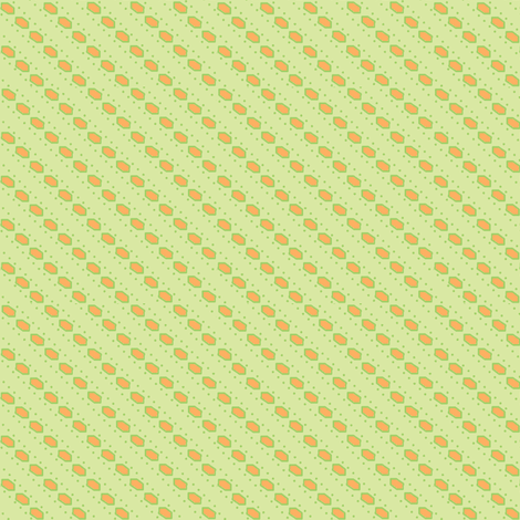 mosaicstripe cantelope fabric by glimmericks on Spoonflower - custom fabric