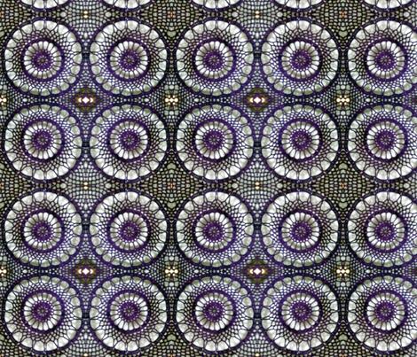 Purple Lace fabric by persimondreams on Spoonflower - custom fabric