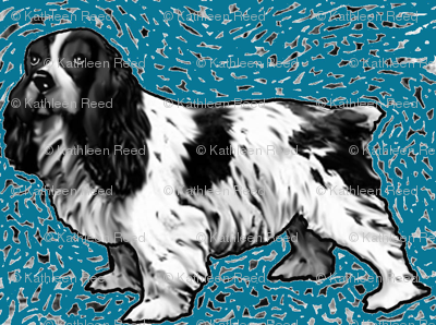 cocker_spaniel_woodcut