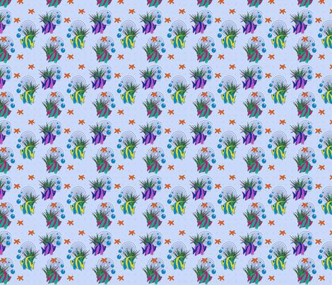 Sea Stars fabric by glanoramay on Spoonflower - custom fabric