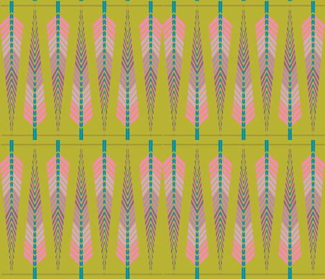 my little squaw fabric by ma'vi on Spoonflower - custom fabric
