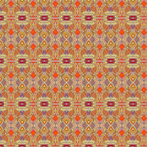 Like a Chrysler Building on Fire fabric by edsel2084 on Spoonflower - custom fabric