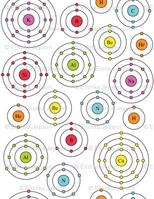 Periodic Shells (Ditsy)