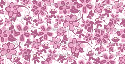 Super Pink Ninja Warriors! (Small)