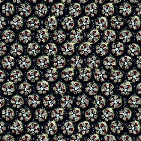 Belle of the Ball Silver Jingle fabric by glimmericks on Spoonflower - custom fabric