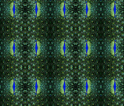 Peacock-Head-Fabric fabric by mr__exclusive on Spoonflower - custom fabric