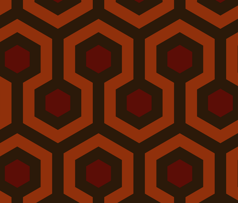 Shining Hallway Carpet fabric by salg on Spoonflower - custom fabric
