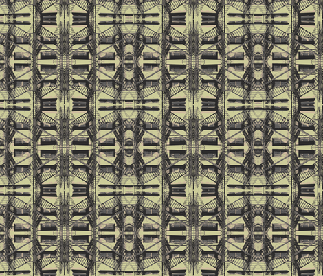 Steampunk Urban fabric by relative_of_otis on Spoonflower - custom fabric