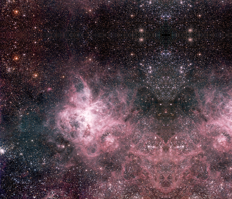 ESO-Tarantula_Nebula-phot-14a-02-hires fabric by tingish on Spoonflower - custom fabric