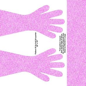 Pink Spec Gloves