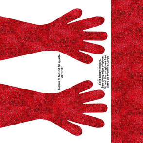 Red Speckle Gloves