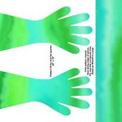 Green Turbulence Gloves