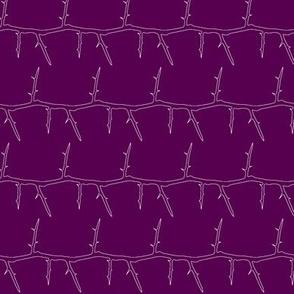 Purple Thorns v.5