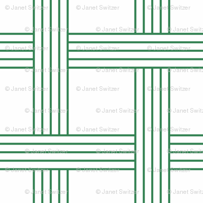basketweave nile green