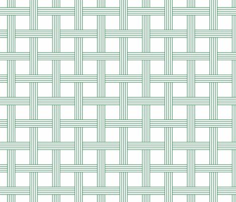basketweave nile green fabric by georgeandgracie on Spoonflower - custom fabric
