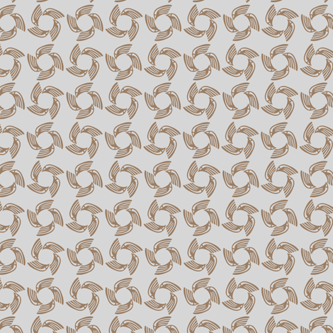 metal falcon fabric by glimmericks on Spoonflower - custom fabric