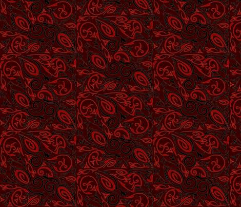 tattoo3-big fabric by glimmericks on Spoonflower - custom fabric