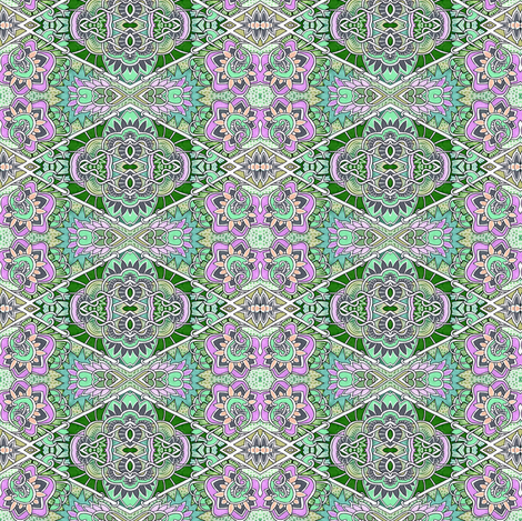 Diamond Gardens fabric by edsel2084 on Spoonflower - custom fabric