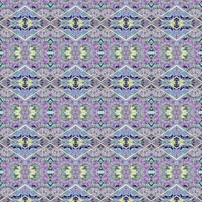Alien Honeysuckle Diamonds horizontal stripe