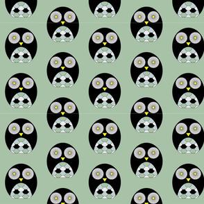 Owls - Grey