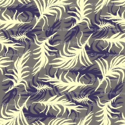 feather bed (indigo)