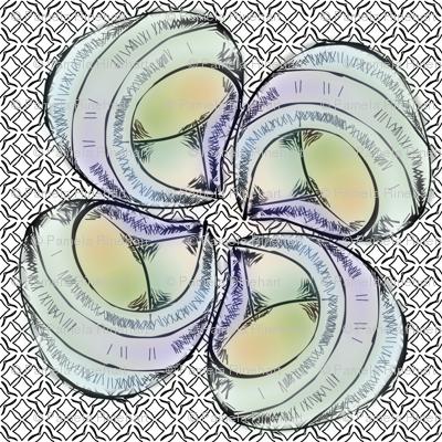shellflower- blue