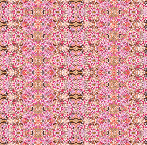 Barbie Scale Pink Peasant Stripe fabric by edsel2084 on Spoonflower - custom fabric