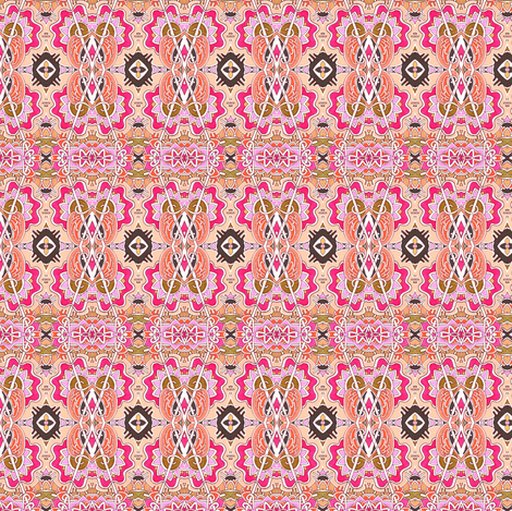 New Mexico Sunshine fabric by edsel2084 on Spoonflower - custom fabric