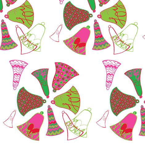 bellsmotifsmall fabric by abbington on Spoonflower - custom fabric