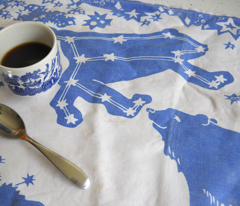 Ursa Major Tea Towel (navy)