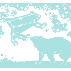 Ursa Major Tea Towel (turquoise)