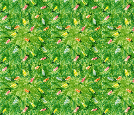 Lights in Tree fabric by amyelyse on Spoonflower - custom fabric
