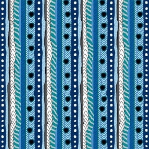 Horse Feathers Blue Stripes