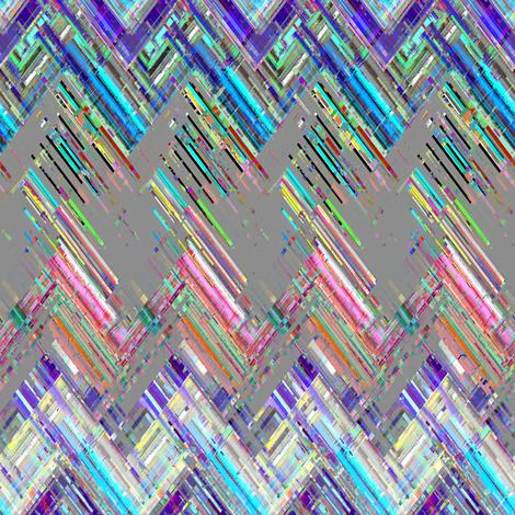 Zig Zag Threads  fabric by joanmclemore on Spoonflower - custom fabric