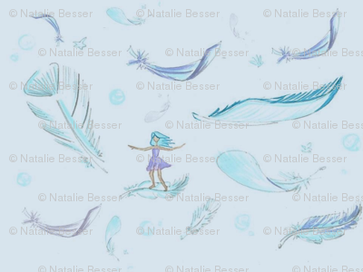 Feather surfer