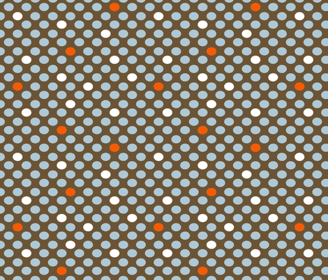 MOD Feathers Dots fabric by natitys on Spoonflower - custom fabric