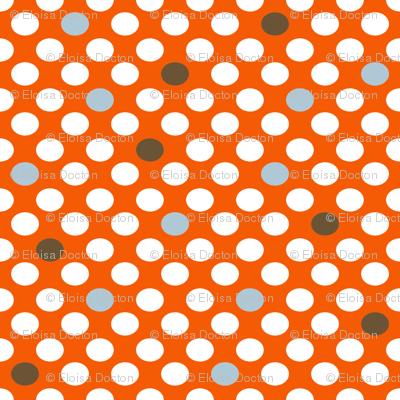 MOD Dots Orange