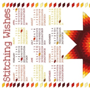 Star Stitch Calendar