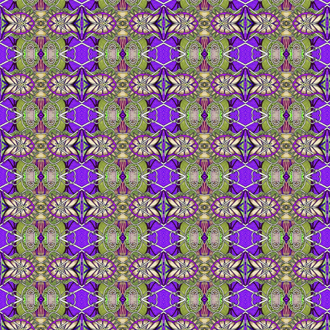 When Purple Came to Play with Green fabric by edsel2084 on Spoonflower - custom fabric