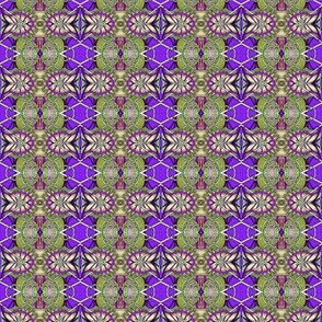 When Purple Came to Play with Green