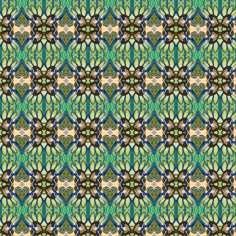 Gardens are for Lovers fabric by edsel2084 on Spoonflower - custom fabric