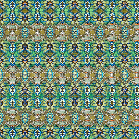 Hawaiian Vacation Time fabric by edsel2084 on Spoonflower - custom fabric