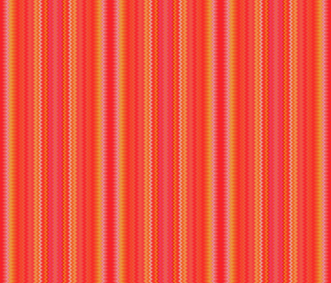 Aramantha Zig Zag Upright Stripe fabric by peacoquettedesigns on Spoonflower - custom fabric