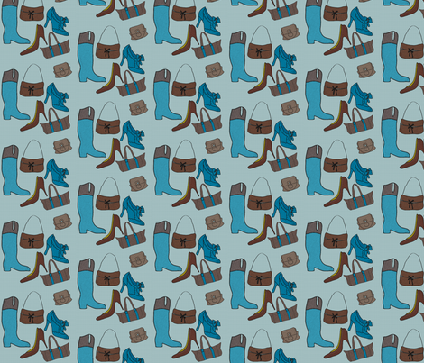 SHOES fabric by aureliaangouleme on Spoonflower - custom fabric